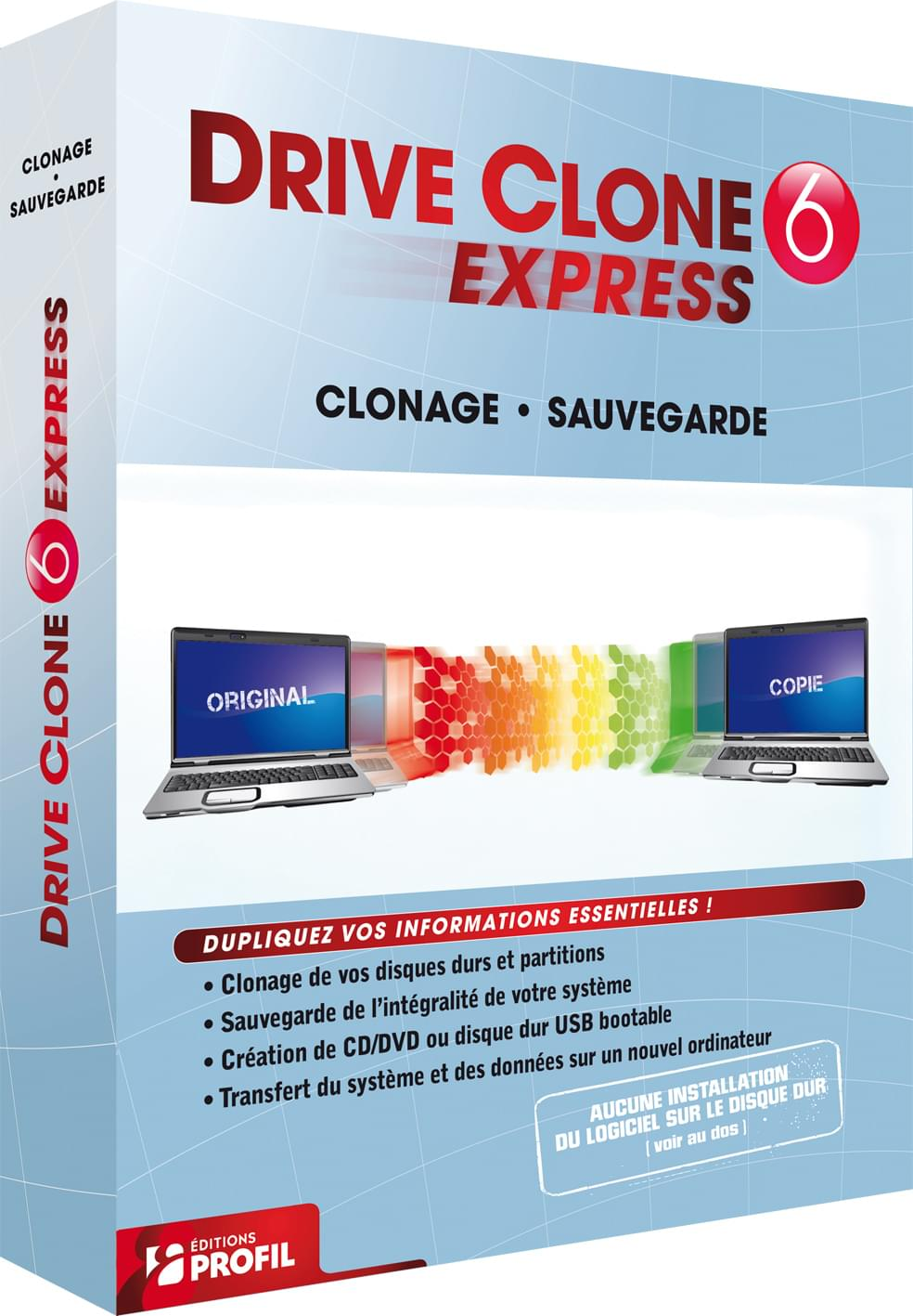 FarStone DriveClone 6 Express (B-FDCEXP6W) - Achat / Vente Logiciel Application sur Cybertek.fr - 0