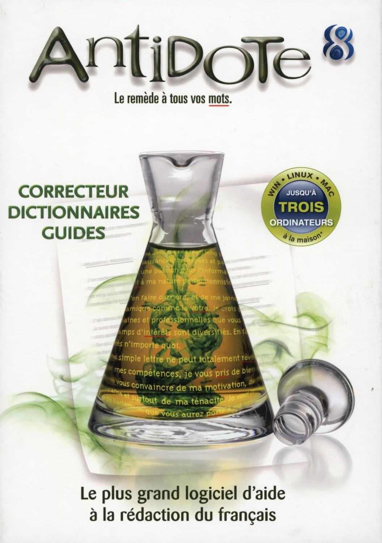 Druide Antidote 8 - Logiciel application - Cybertek.fr - 0