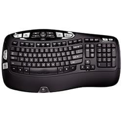Logitech Clavier PC Wireless Keyboard K350 Business Cybertek