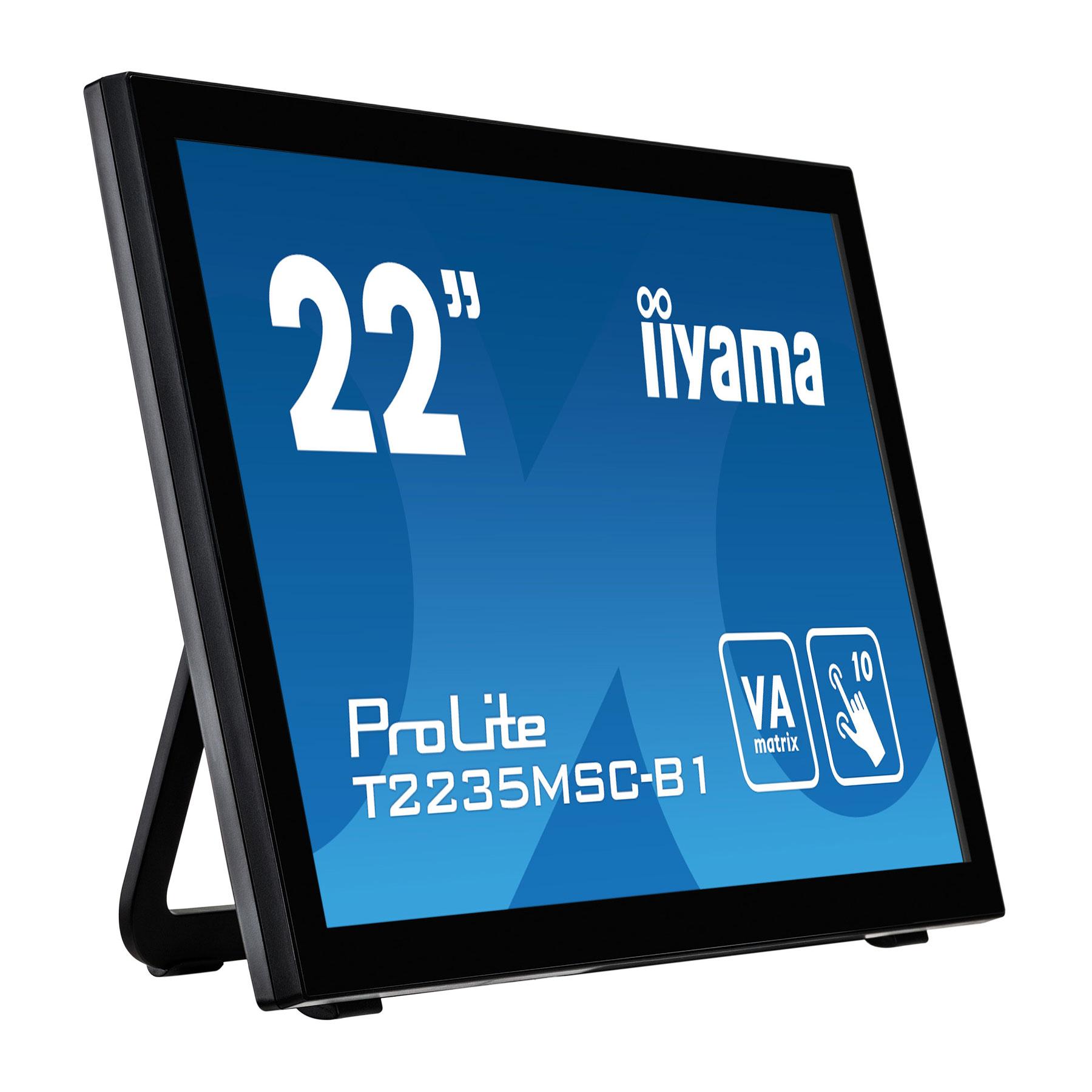 "Iiyama 22""  T2235MSC-B1 - Ecran PC Iiyama - Cybertek.fr - 2"