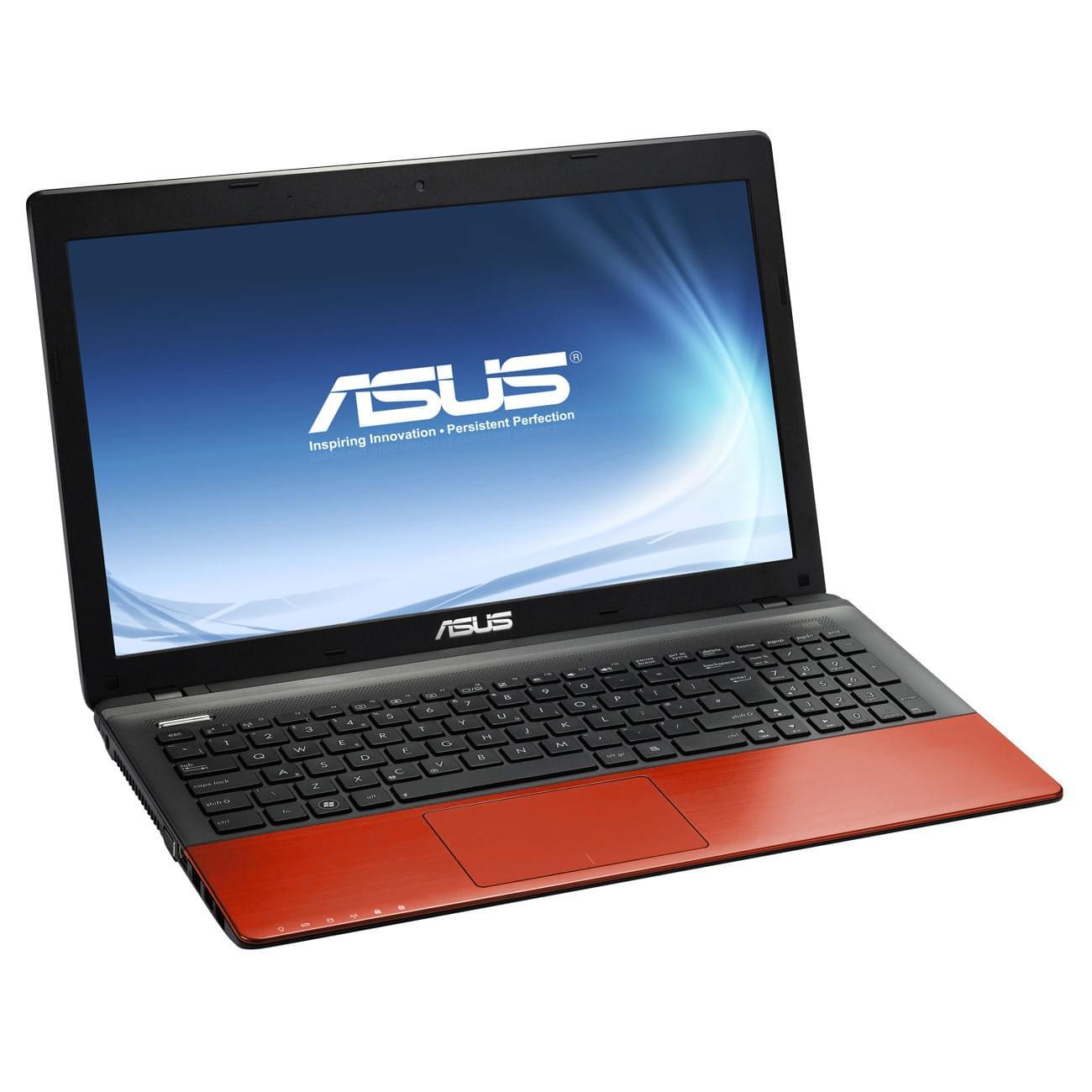 """Asus K55VD-SX227H Red -i3-3110/4Go/750Go/GT610/15.6""""/W8 (K55VD-SX227H) - Achat / Vente PC Portable sur Cybertek.fr - 0"""
