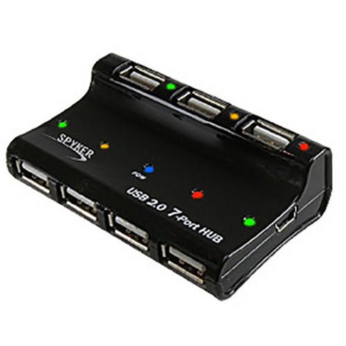 générique 7 Ports USB 2.0 Alim. externe - Hub générique - 0