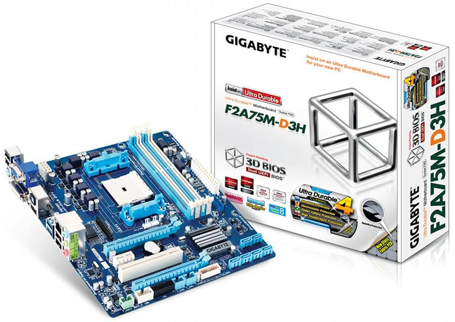 Gigabyte F2A75M-D3H (F2A75M-D3H) - Achat / Vente Carte Mère sur Cybertek.fr - 0