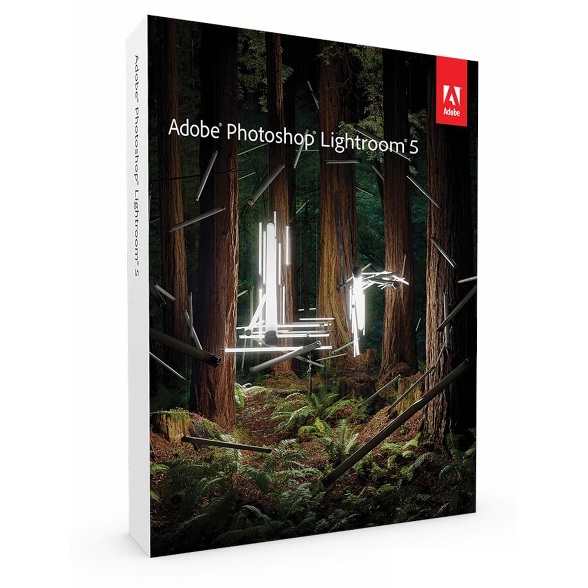 Adobe Lightroom V5 Boite (65215140) - Achat / Vente Logiciel application sur Cybertek.fr - 0