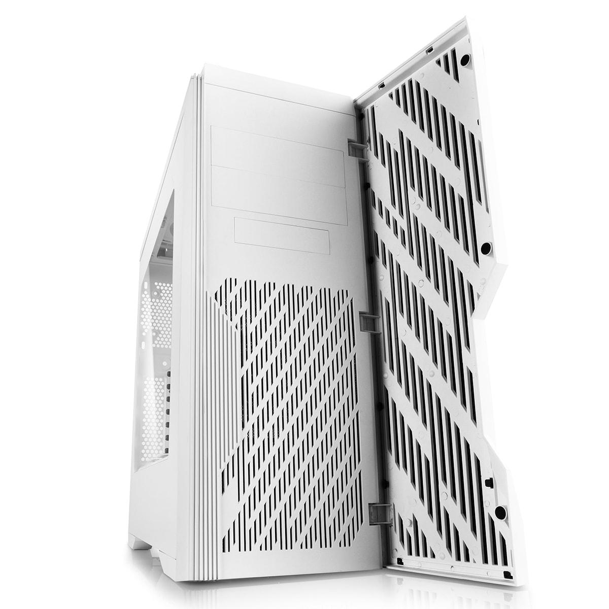 Deepcool DUKASE V2 Blanc - mT/Ss Alim/ATX (DUKASE WHV2) - Achat / Vente Boîtier PC sur Cybertek.fr - 1