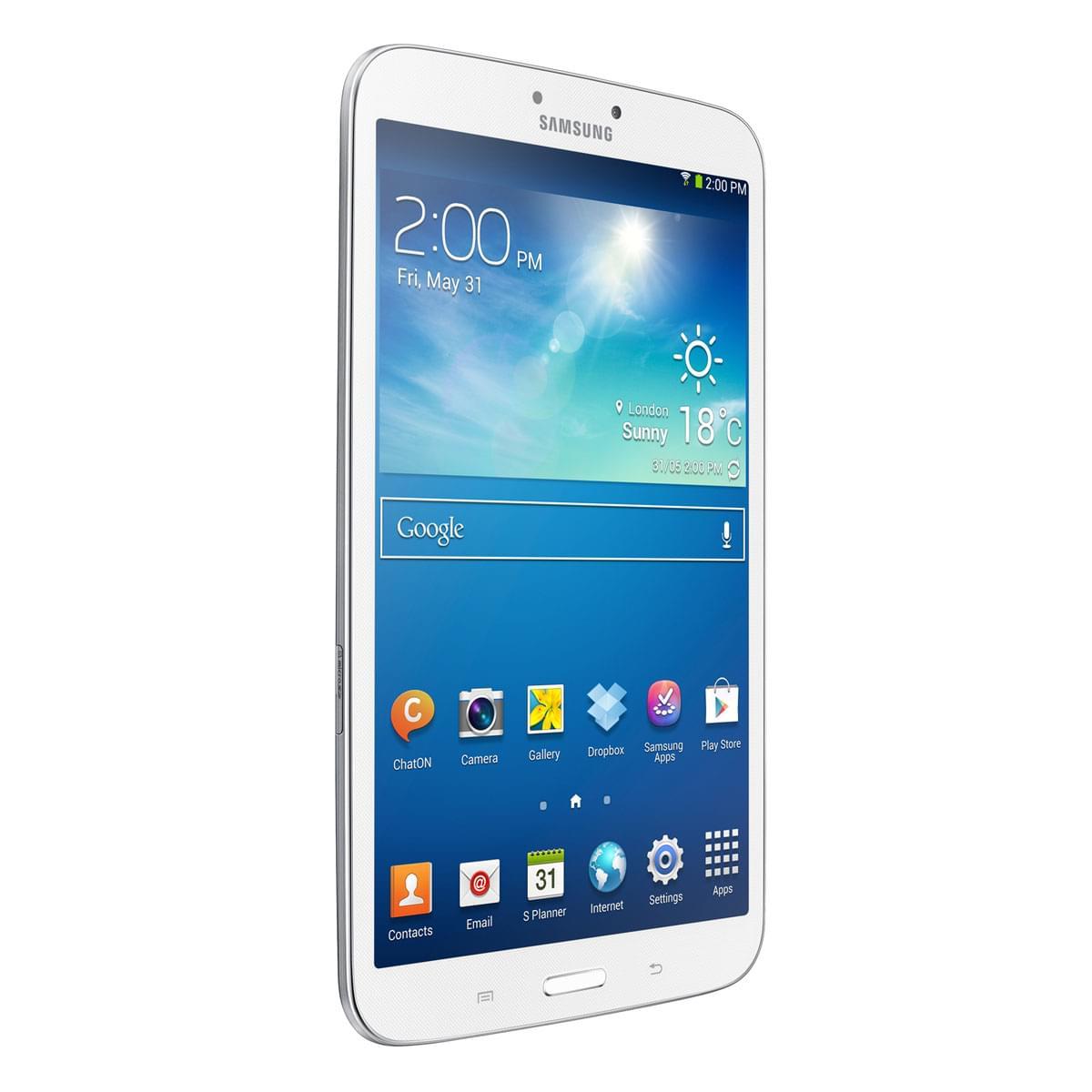 "Samsung Galaxy Tab 3 8"" T3110ZWA (SM-T3110ZWAXEF soldé) - Achat / Vente Tablette tactile sur Cybertek.fr - 0"