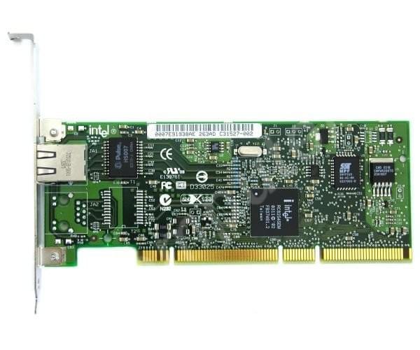 Intel PCI 10/100/1000MB PRO 1000MT Server Manageable - Carte réseau - 0