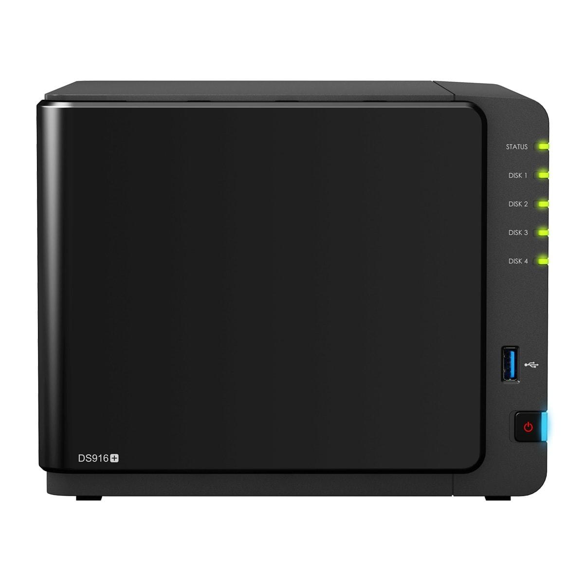 Synology DS916+ 8G (DS916+(8G)) - Achat / Vente Serveur NAS sur Cybertek.fr - 1