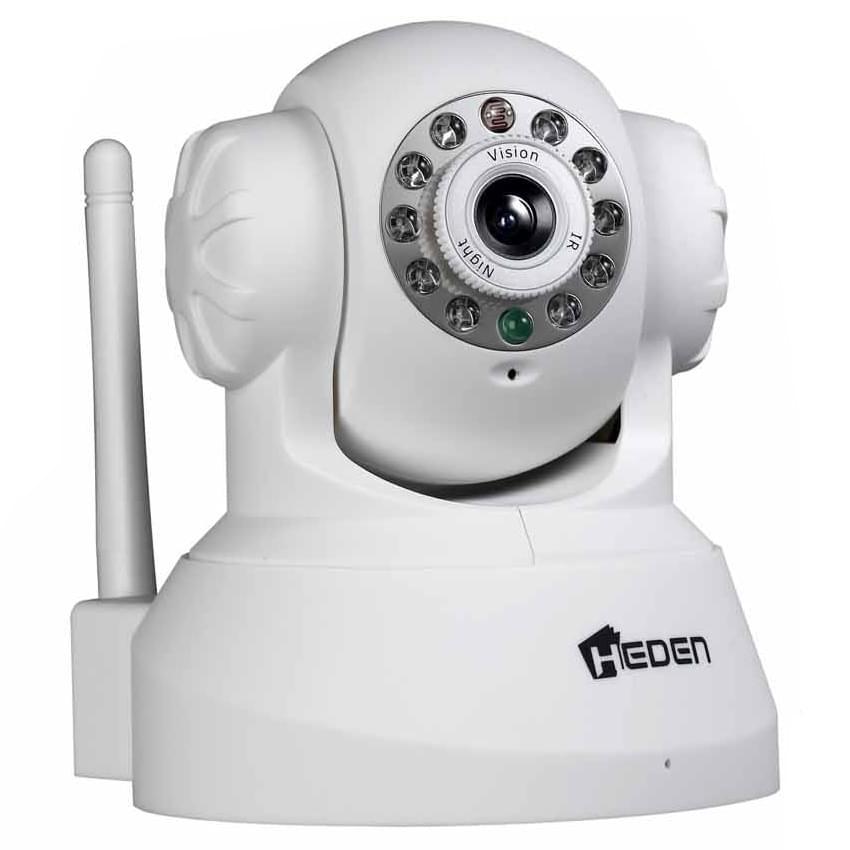 Heden VisionCam WiFi Motorisée 2.4WH (CAMHEDP4IPWB) - Achat / Vente Caméra / Webcam sur Cybertek.fr - 0