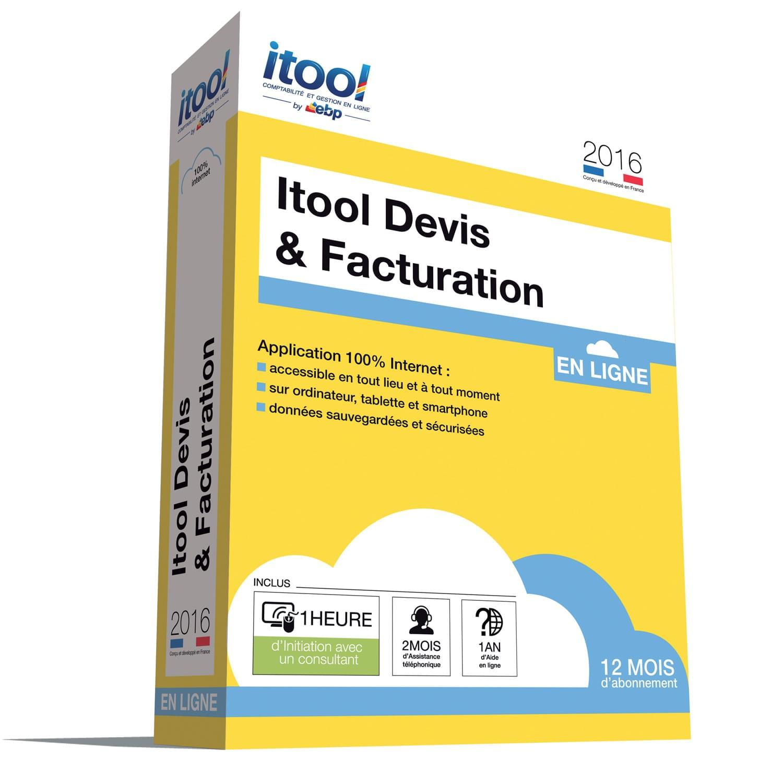 EBP ITOOL Devis & Facturation En Ligne 2016 (9071A000FAI) - Achat / Vente Logiciel Application sur Cybertek.fr - 0