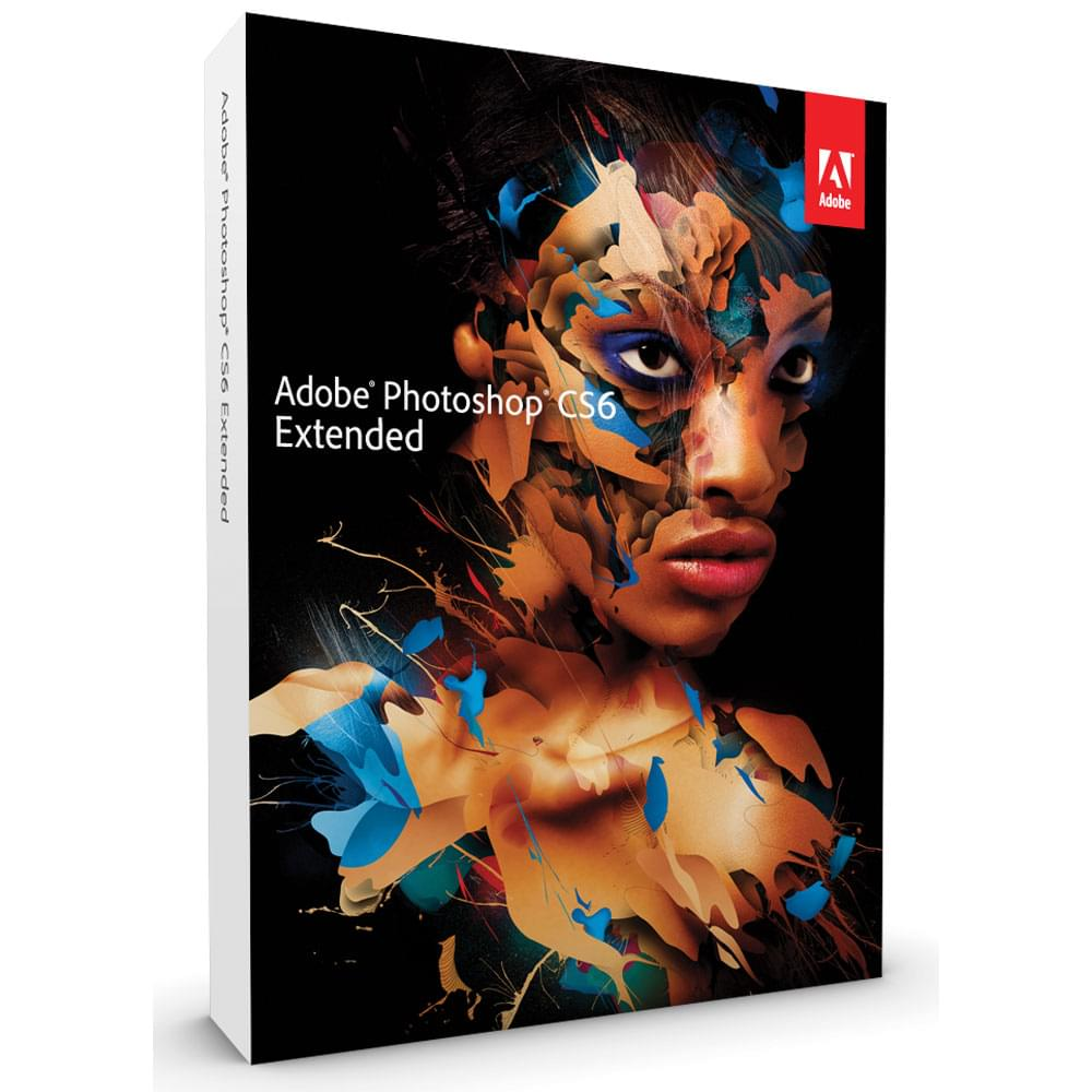 Adobe Photoshop CS6 Extended Boite (65170159) - Achat / Vente Logiciel Application sur Cybertek.fr - 0