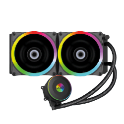 image produit M.RED WaterCooling AIO 240mm RGB Rainbow - AIRW-24 Cybertek