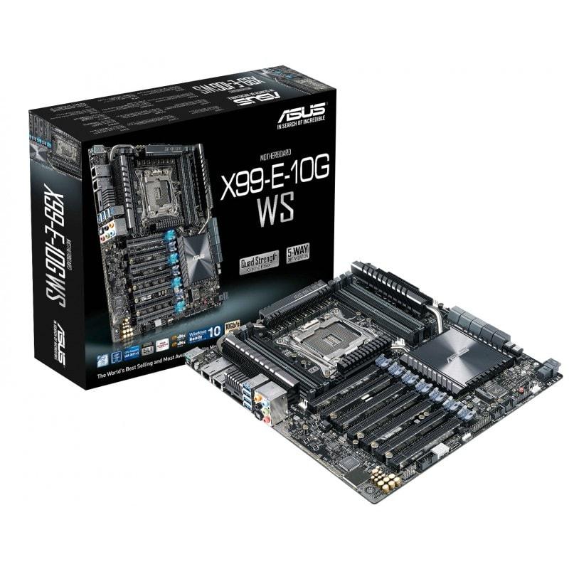 Asus X99-E-10G WS SSI CEB DDR4 - Carte mère Asus - Cybertek.fr - 0