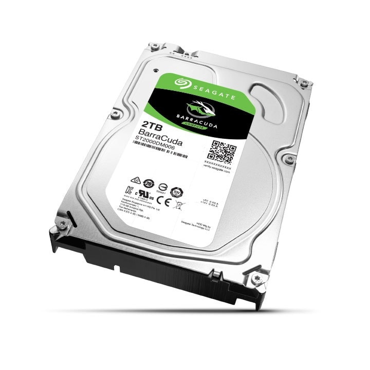 "Seagate 2To SATA III 64Mo BarraCuda ST2000DM006 - Disque dur interne 3.5"" - 0"