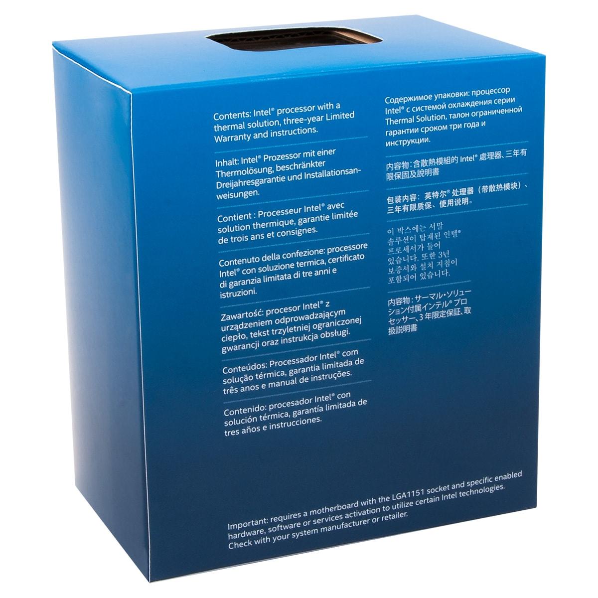 Intel Core i3 7100 - 3.9GHz - Processeur Intel - Cybertek.fr - 2