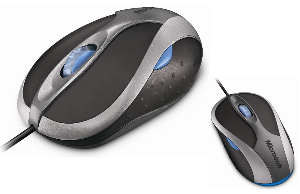 Microsoft Notebook Optical Mouse 3000 Gray (B2J-00002) - Achat / Vente Souris PC sur Cybertek.fr - 0