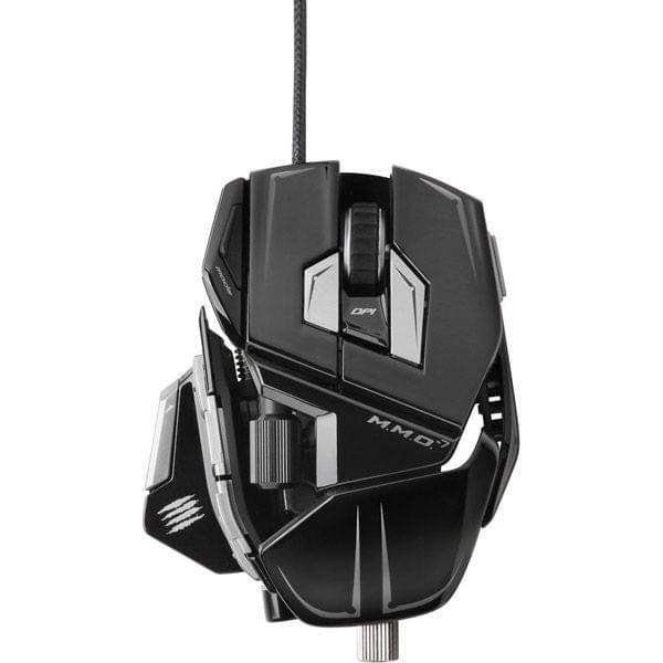 MAD CATZ R.A.T MMO 7 Gloss Noir (MCB4371300C2/04/1) - Achat / Vente Souris PC sur Cybertek.fr - 0