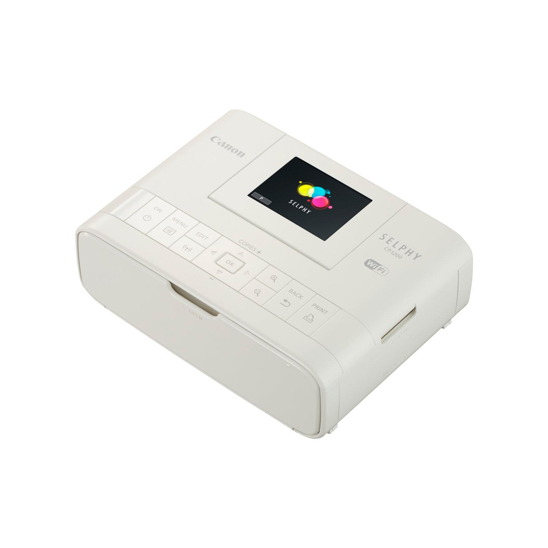 Imprimante Canon SELPHY CP1200 Blanche - Cybertek.fr - 4