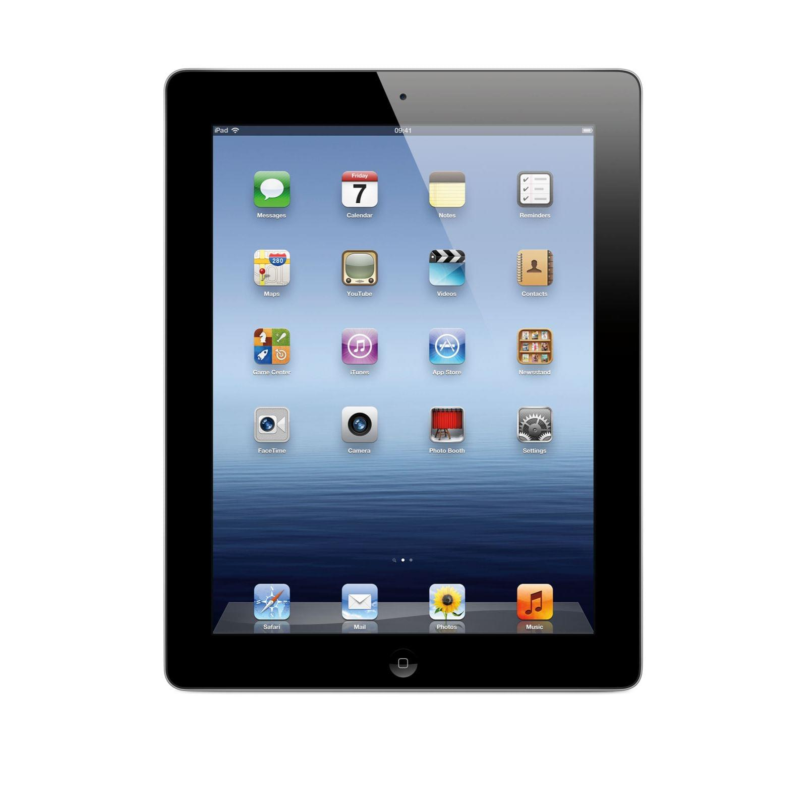 Apple iPad 3 16Go WiFi Black (MC705NF/A) - Achat / Vente Tablette Tactile sur Cybertek.fr - 0