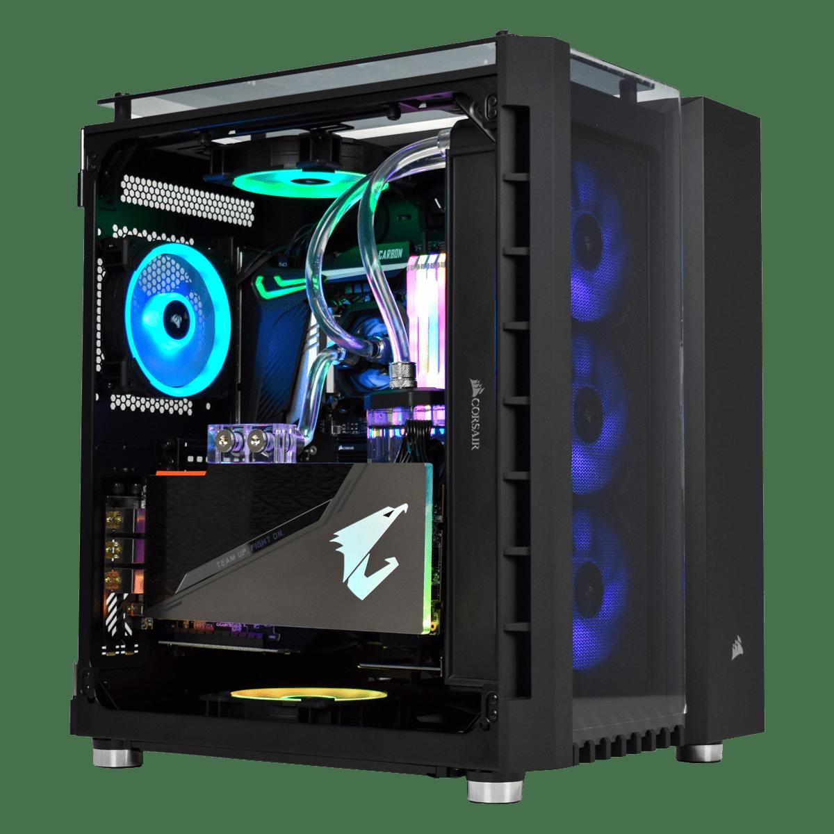 PC Gamer OSMIUM (v10) - Sans Windows | Top Achat