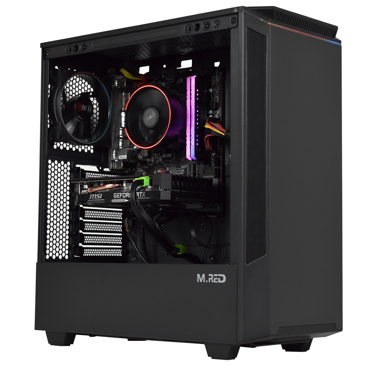 <span>PC</span> rebellious v3  ryzen 5 3600 16go rtx 2060