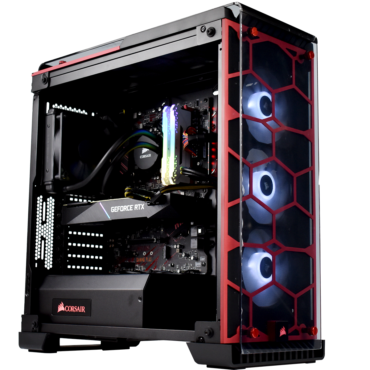 PC Gamer Cybertek VOLCANO <sup>v7</sup> Intel Core i9 9900k - Corsair 16Go DDR4 - PNY RTX 2080 - SSD Corsair 240Go