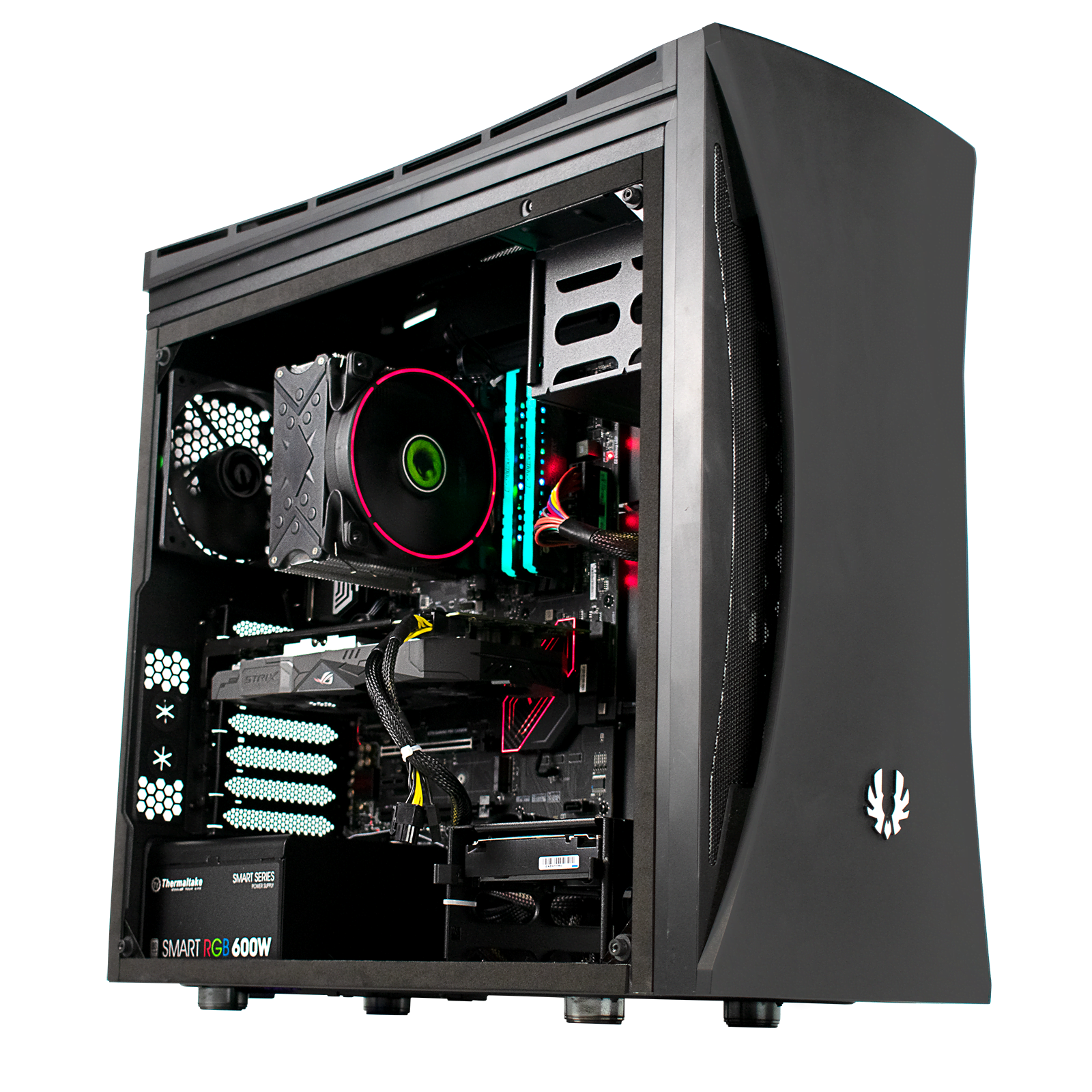 PC Gamer Cybertek VULTURE Processeur AMD Ryzen 5 1600 - Corsair 16Go DDR4 - Asus Strix RX570-O4G - Kingston SSD 240Go