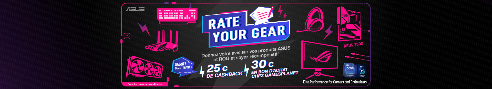 Asus rate your Gear