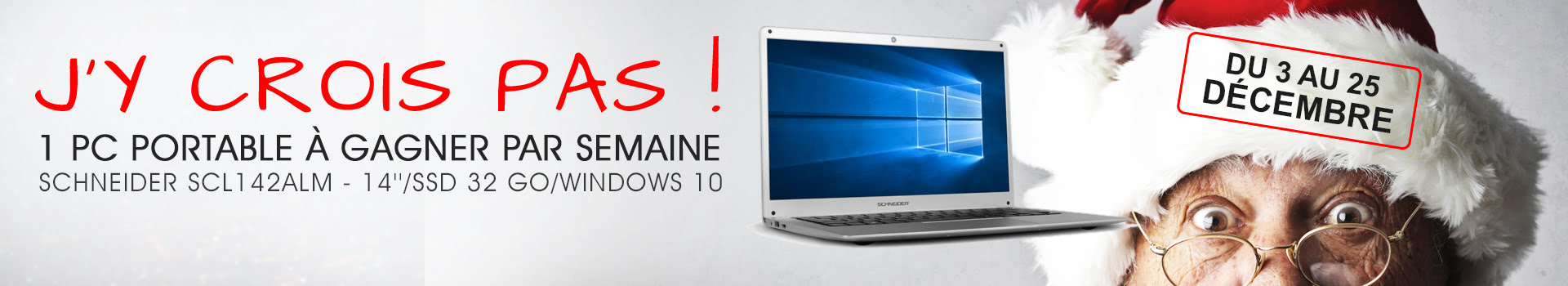 Concours Gagner PC portable schneider