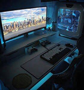 d11ee29800a7c5 Univers Gamer. PC GAMER CYBERTEK · PC PORTABLE GAMER · ECRANS GAMER ·  PERIPHERIQUES DE JEU · SIEGES GAMER. PC DE BUREAU