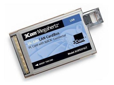 3Com PCMCIA 10/100MB (3CXFE575CT soldé) - Achat / Vente Carte réseau sur Cybertek.fr - 0