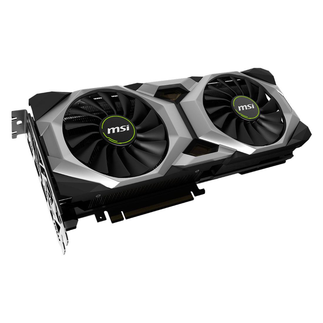 MSI GeForce RTX 2080 VENTUS 8G OC (912-V372-002) - Achat / Vente Carte graphique sur Cybertek.fr - 1