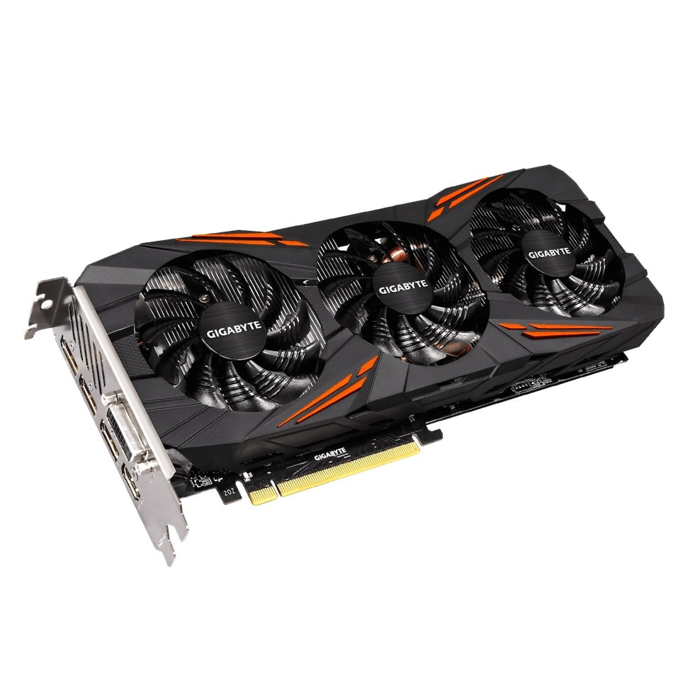 Gigabyte nVidia GF GTX 1070 - 8Go - carte Graphique pour Gamer - GPU nVidia - 1