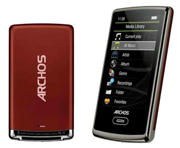 Archos Archos 3 Vision 8Go Rouge (501339) - Achat / Vente Serveur NAS sur Cybertek.fr - 0