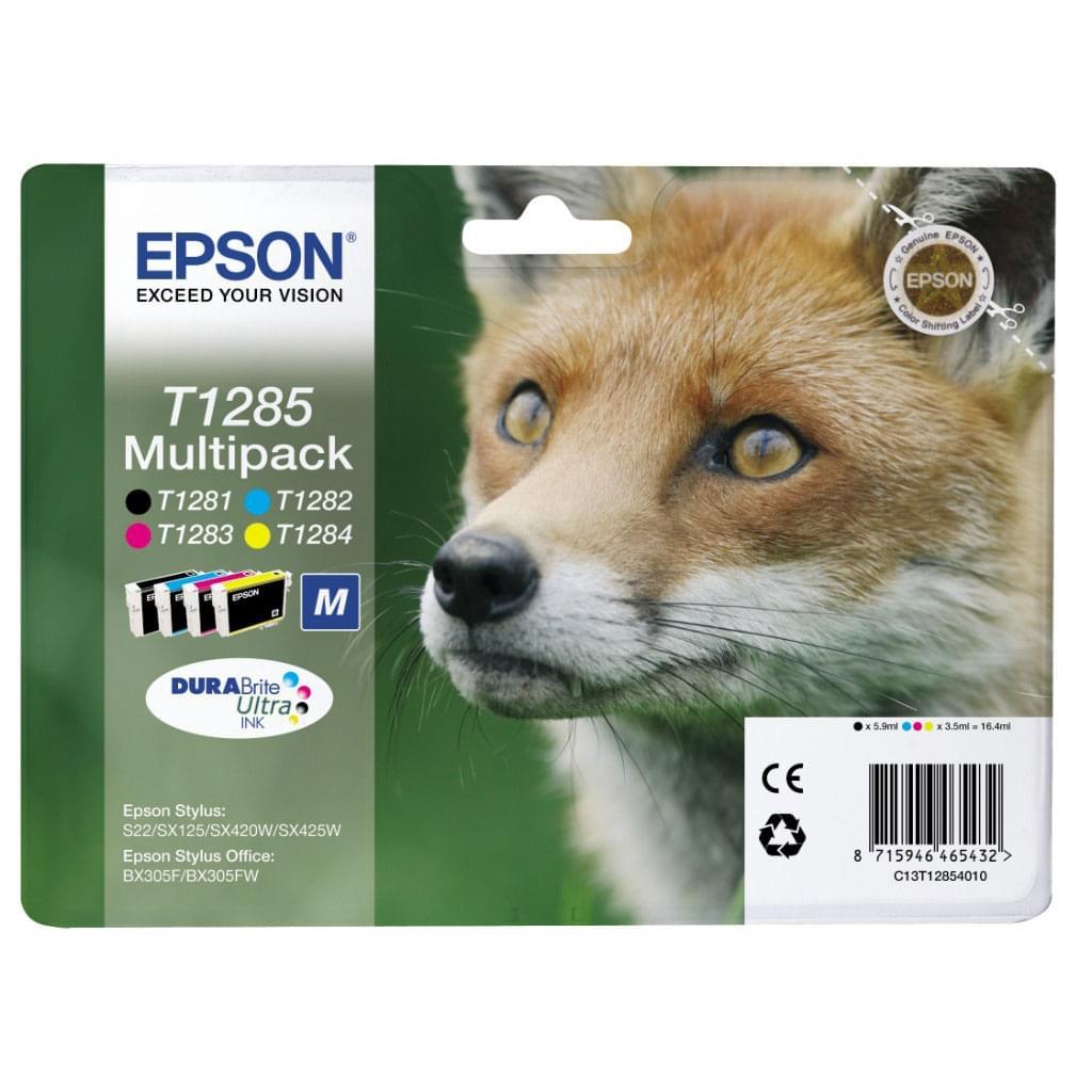 Multipack T1285 couleur et noir pour imprimante  Epson - 0