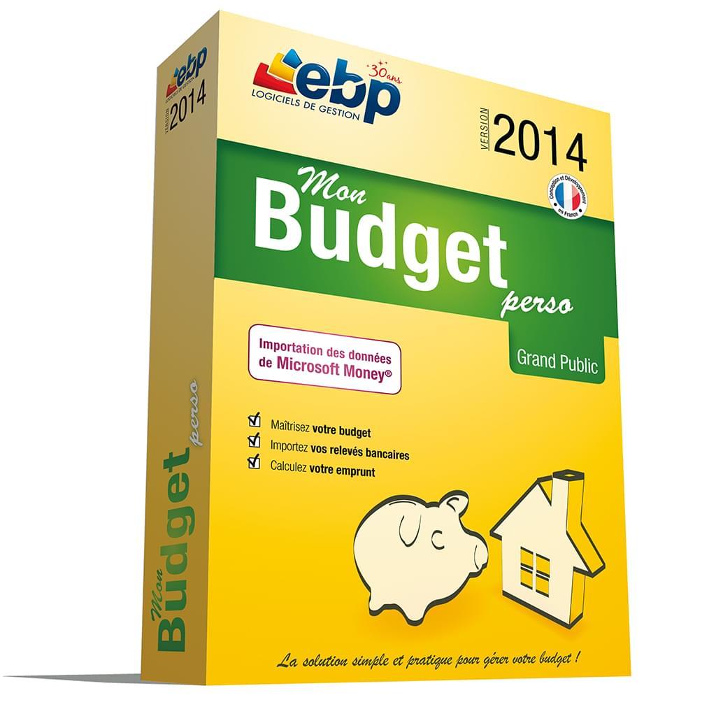 EBP Mon budget Perso 2014 (1081E140FAA) - Achat / Vente Logiciel Application sur Cybertek.fr - 0