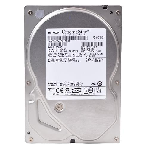 """HGST 320Go 7200tr 8Mo SATA II HCP725032GLA380 - Disque dur interne 3.5"""" - 0"""