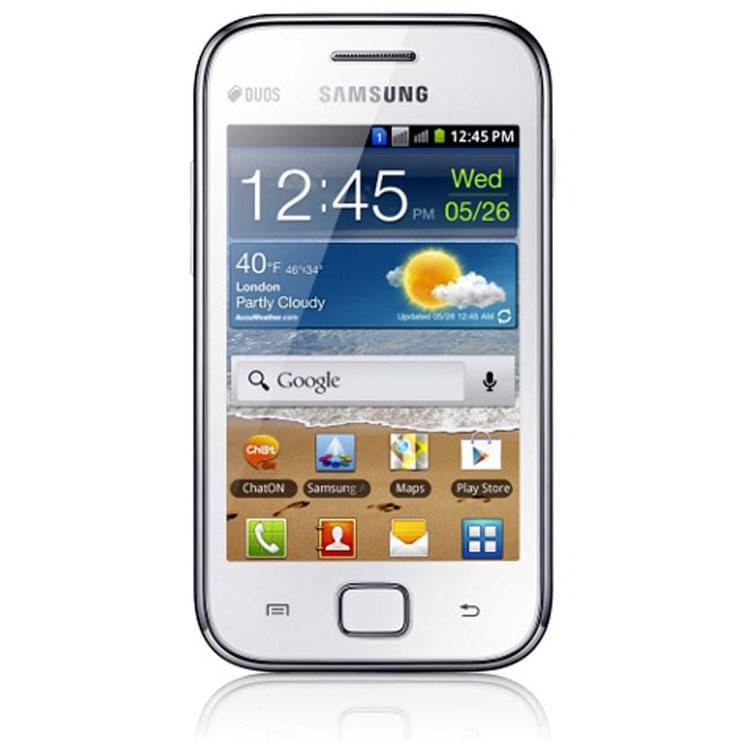 Samsung Galaxy Ace Duos Blanc S6802 - Téléphonie Samsung - 0