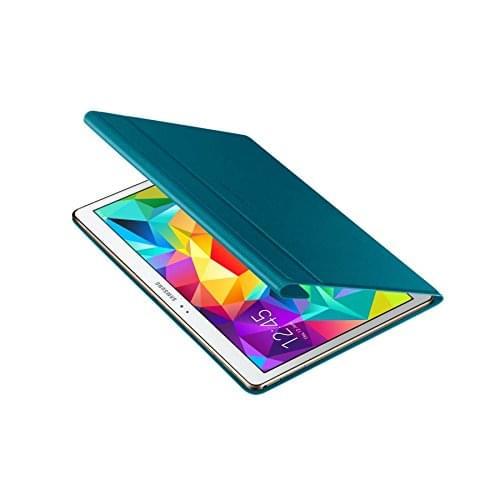 """Samsung Book Cover Galaxy Tab S 10.5"""" Bleu EF-BT800B (EF-BT800BLEGWW) - Achat / Vente Accessoire Tablette sur Cybertek.fr - 0"""