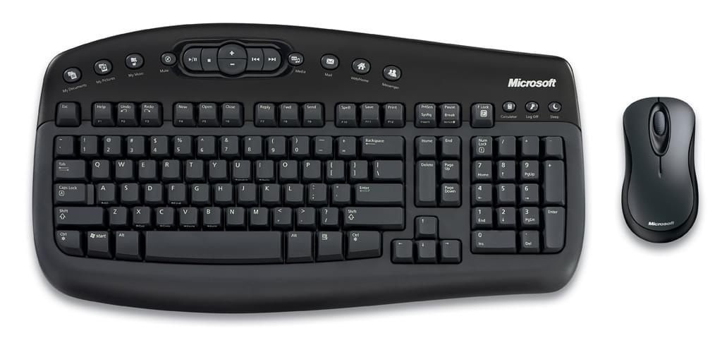 Microsoft Wireless Optical Desktop 1000 (BV3-00009) - Achat / Vente Pack Clavier/Souris sur Cybertek.fr - 0
