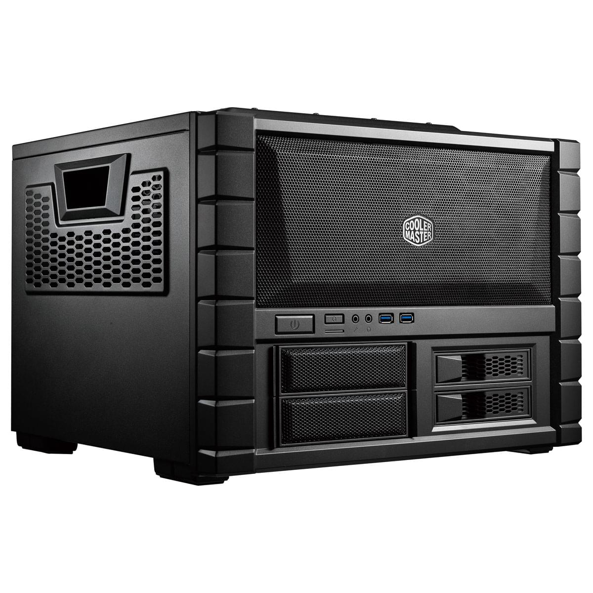 Cooler Master DT/Sans Alim/ATX Noir - Boîtier PC Cooler Master - 0