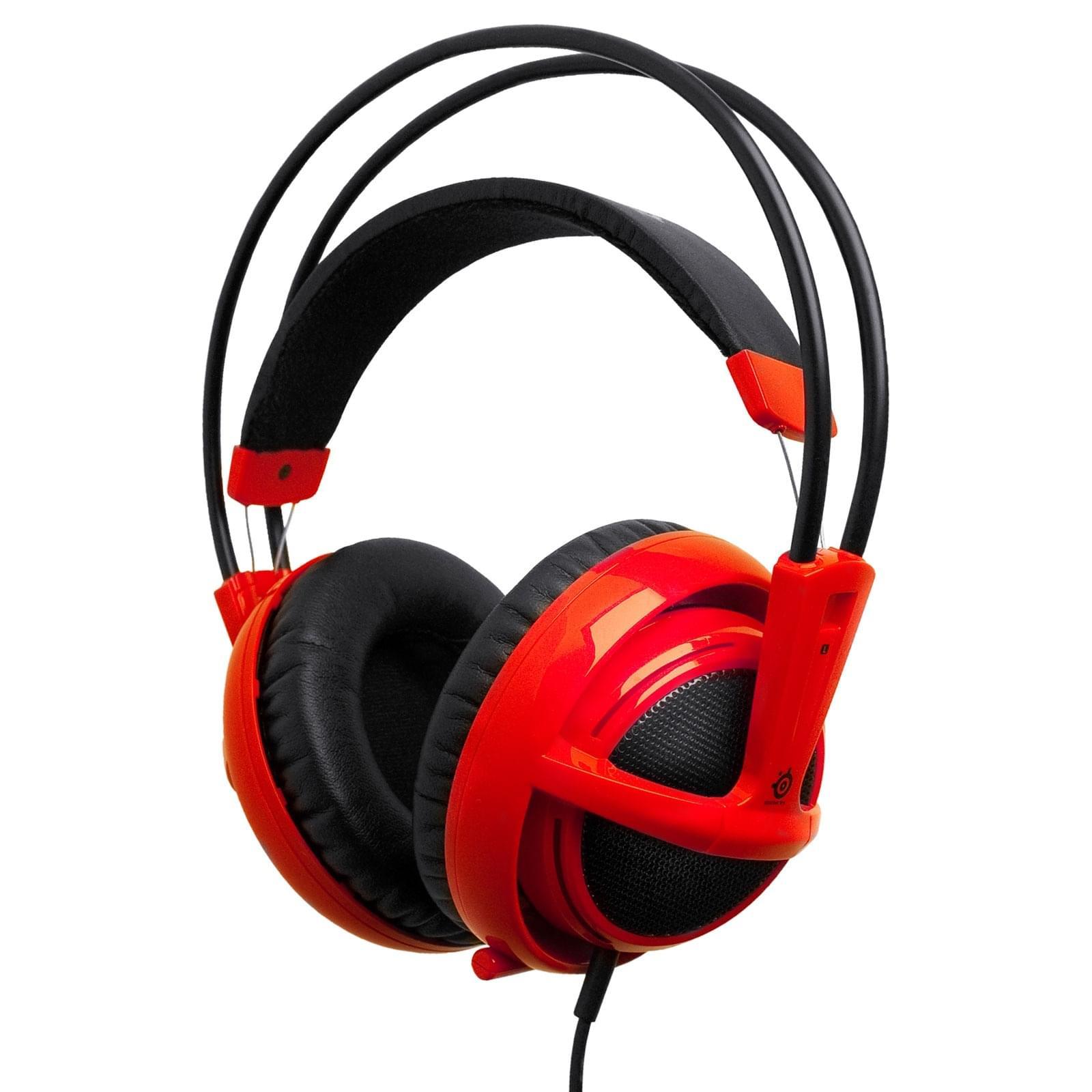 Steelseries Siberia V2 Rouge (51104) - Achat / Vente Micro-casque sur Cybertek.fr - 0