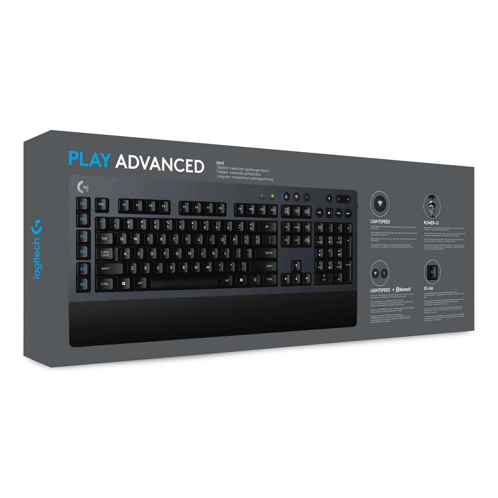 Logitech G613 Wireless Mechanical Gaming Keyboard - Clavier PC - 1