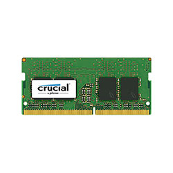image produit Crucial SO-DIMM 4Go DDR4 2400 CT4G4SFS824A Cybertek