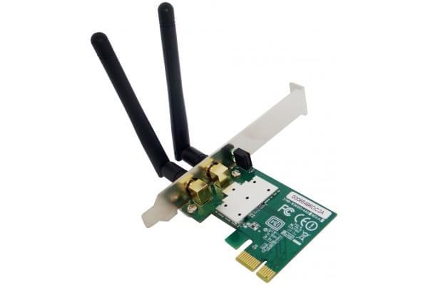 Netis Carte réseau PCI-E WiFi 802.11 N,B,G - LP/strd./300MB - 0