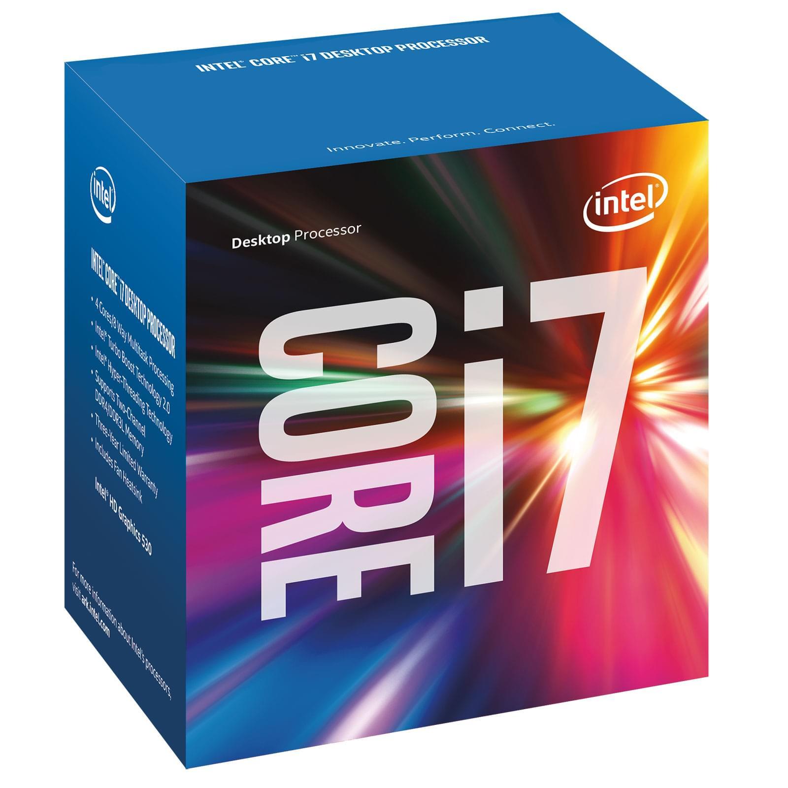 Intel Core i7 6700 (BX80662I76700) - Achat / Vente Processeur sur Cybertek.fr - 0