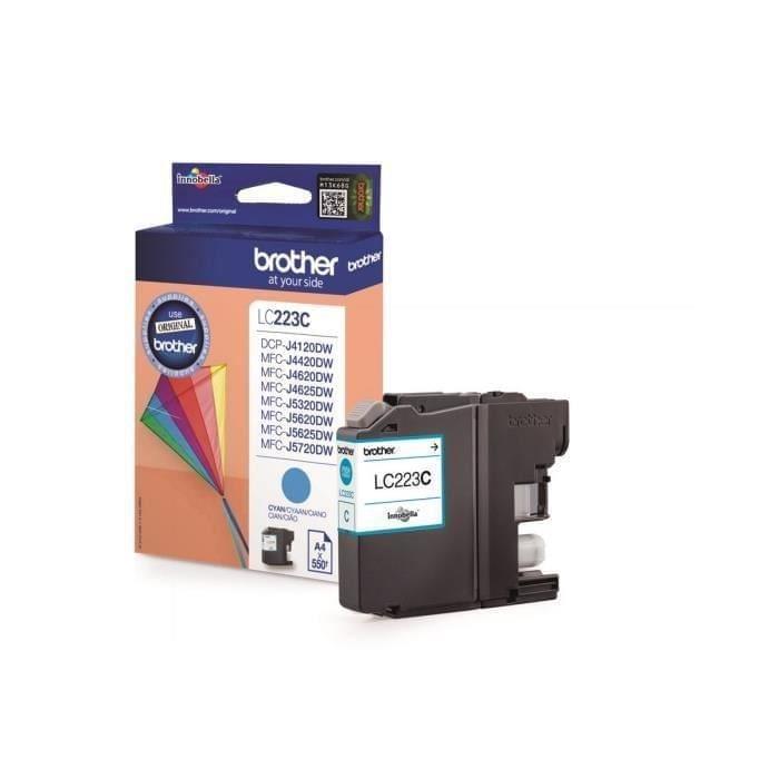 Brother Cartouche LC223C Cyan (LC223C) - Achat / Vente Consommable Imprimante sur Cybertek.fr - 0