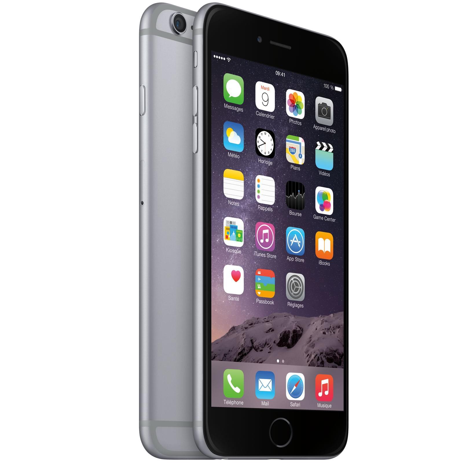 Apple iPhone 6 Plus 16Go Gris Sidéral (MGA82ZD/A) - Achat / Vente Téléphonie sur Cybertek.fr - 0