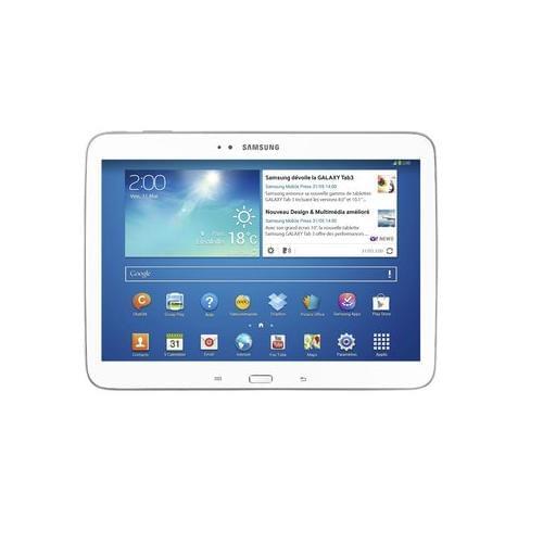 Samsung Galaxy Tab 3 P5200ZWA (GT-P5200ZWAXEF FDV) - Achat / Vente Tablette Tactile sur Cybertek.fr - 0