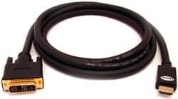 image produit No Name Câble DVI - HDMI 2m Cybertek